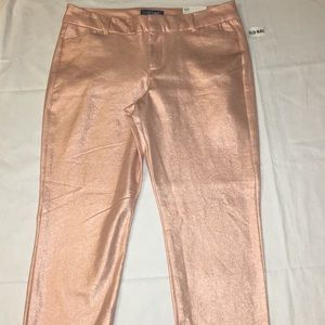 Blush with Sheen Pants